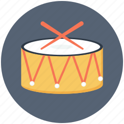 drum, instrument, music, musical icon icon
