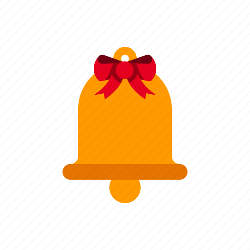 bell, christmas, decoration, ding, music, ring, xmas icon