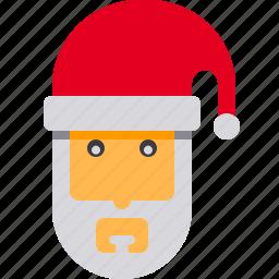 christmas, claus, holiday, newyear, santa, santaclaus, xmas icon