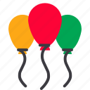 balloon, celebration, christmas, decoration, party, xmas icon