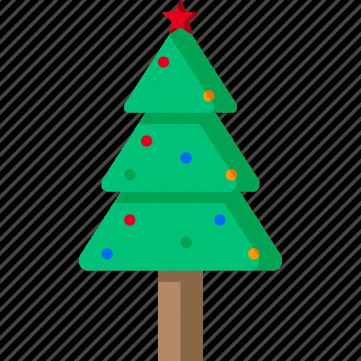 christmas, fir, holiday, newyear, star, tree, xmas icon