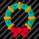cherry, christmas, decoration, mistletoe, wreath, xmas
