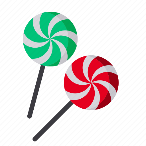 candy, chocolate, christmas, lollypop icon