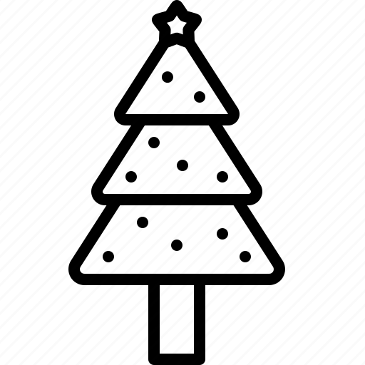 christmas, fir, holiday, newyear, star, tree, xmas icon
