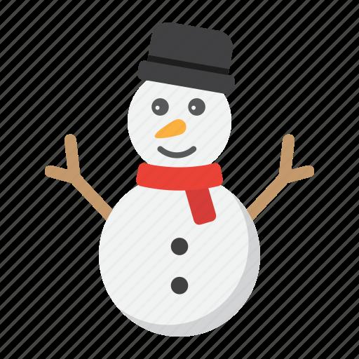 christmas, happy, holiday, new year, snowman, xmas icon