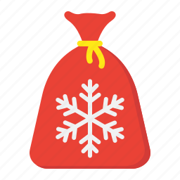 bag, christmas, gift, holiday, new year, santa icon