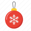 ball, christmas, holiday, new year, tree, xmas icon