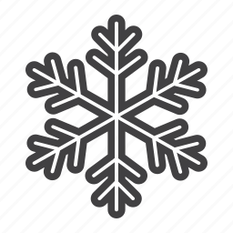 christmas, cold, holiday, new year, snow, snowflake icon