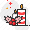 candle, candlelight, christmas icon