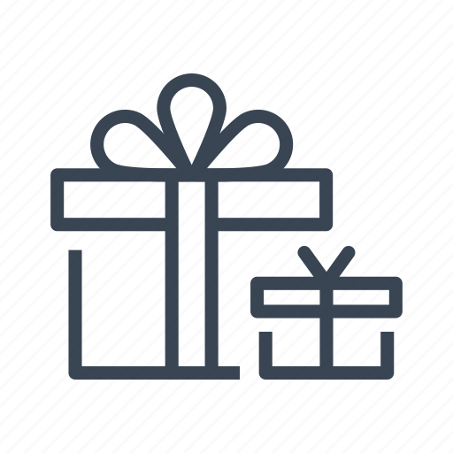 christmas, gift, gifts, present icon