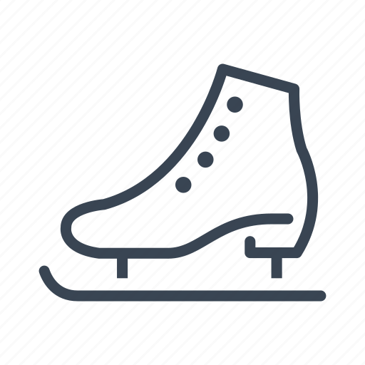 Ice, skate, skating, winter icon - Download on Iconfinder