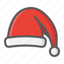 christmas, hat, holiday, new year, santa, xmas icon