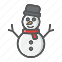 christmas, happy, holiday, new year, snowman, xmas icon