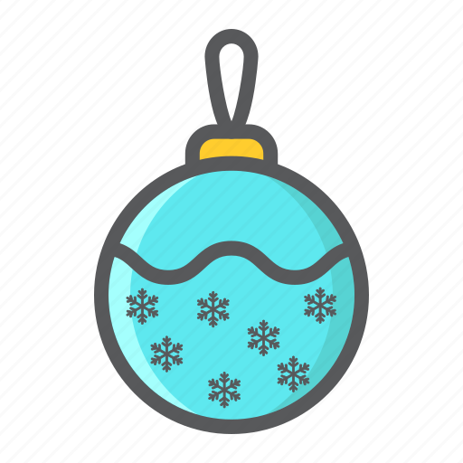 ball, christmas, holiday, new year, tree, xmas icon