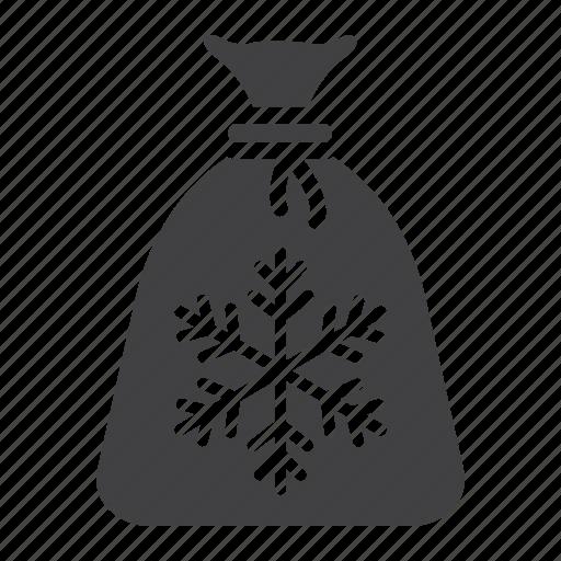 bag, christmas, gift, holiday, new year, santa icon