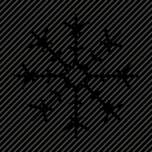 christmas, ice crystal, snow, snowflake, winter, xmas icon