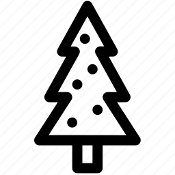 christmas, decorations, holidays, lamps, pine, tree, xmas icon
