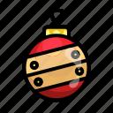 ball, christmas, december, lamp, bulb, xmas