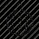 ball, christmas, decoration, glass, pattern, toy, tree