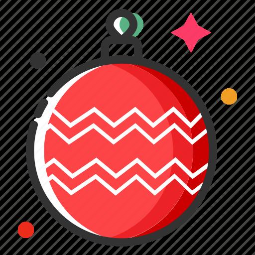 bauble, celebration, christmas ball, christmas decoration, merry christmas, new year, xmas icon