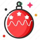 bauble, celebration, christmas ball, christmas decoration, merry christmas, new year, xmas icon