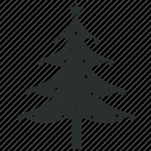 Christmas Tree Icons.Christmas Black Icons By Rebin Infotech
