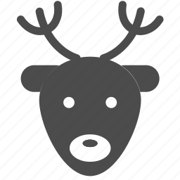 christmas, deer, holiday, merry, rudolf, santa, xmas icon