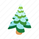cartoon, fir, snow, snowy, white, winter, xmas icon