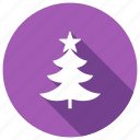 holiday, tree, winter icon