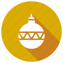 ball, christmas, decoration, decorations icon