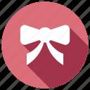 bow, christmas, decoration, festive icon