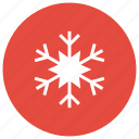 holiday, snowflake, winter icon