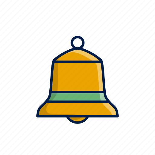 bell, christmas, decoration, xmas icon