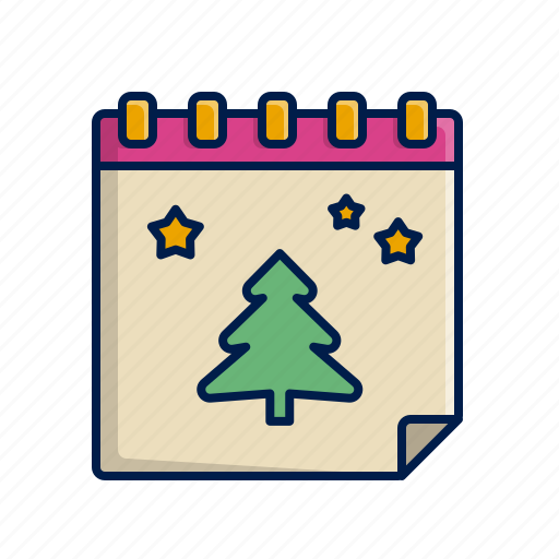 Calendar, christmas, holidays, xmas icon - Download on Iconfinder