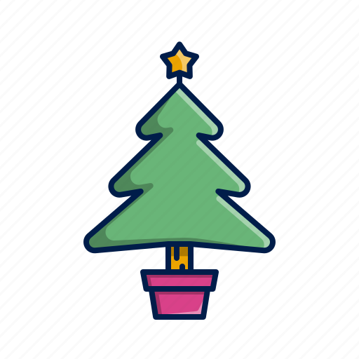 Christmas, holidays, tree, xmas icon - Download on Iconfinder