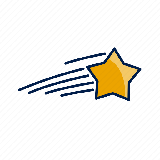 Christmas, shooting, star, xmas icon - Download on Iconfinder