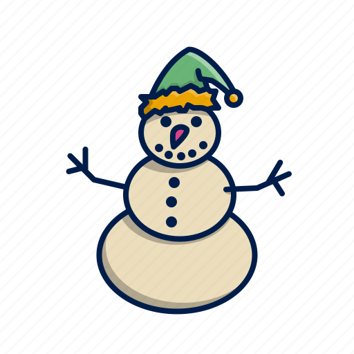 Christmas, snowman, winter, xmas icon - Download on Iconfinder