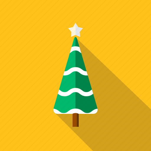 christmas, decoration, festival, tree, xmas icon