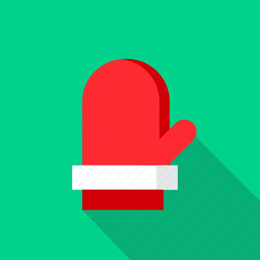 christmas, cold, december, glove, winter icon