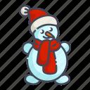 christmas, new year, snowman, xmas
