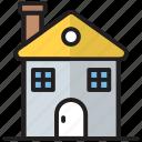 house, hut, shelter, small, villa, wooden hut, wooden shelter icon