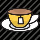 breakfast, coffee, cup, drink, hot, mug, tea