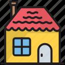 building, christmas, estate, gingerbread, home, house, xmas