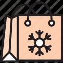 bag, christmas, gift, hand bag, present, shopping bag, xmas