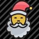cartoon, christmas, claus, face, santa, santa-claus, winter