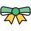 bow, christmas, decoration, festive, greetings, ribbon bow, xmas icon