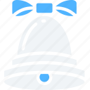 bell, chime, christmas, december, holidays icon