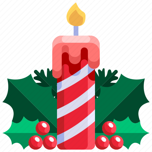 Candle, christmas, decoration, light, xmas icon - Download on Iconfinder