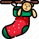 adornment, christmas, clothing, decoration, fashion, sock, xmas