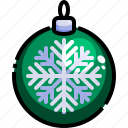 ball, bauble, christmas, decoration, ornament, xmas icon